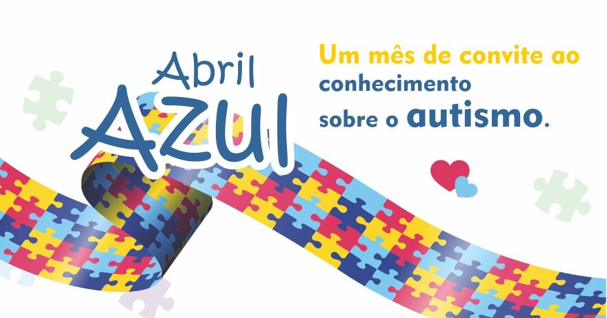 Abril Azul: mês de convite ao conhecimento sobre o autismo