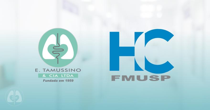 E. Tamussino recebe agradecimento pelo apoio ao Instituto Central - Hospital das Clínicas – FMUSP