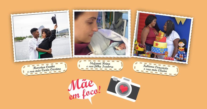 Mês das Mães na E. Tamussino tem concurso de foto e premiação para as mais votadas